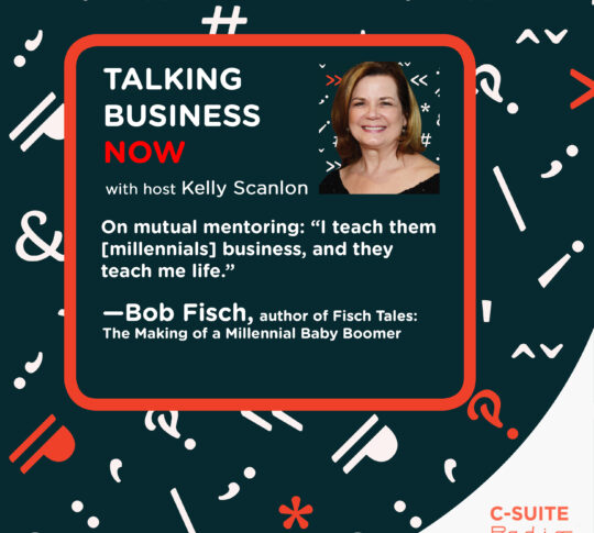Bob Fisch on reverse mentoring between baby boomers and millennials in the workplace
