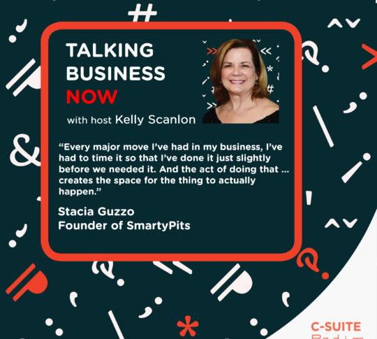 Talking Business Now with guest Stacia Guzzo